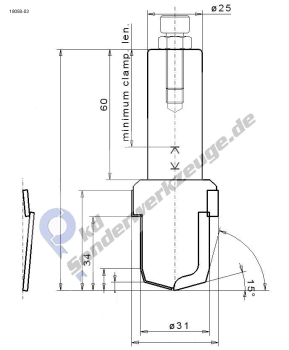 sonderbohrer mit senker f r sperrholz pkd sonderwerkzeuge. Black Bedroom Furniture Sets. Home Design Ideas